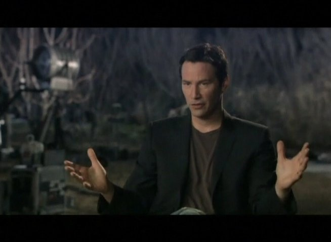 Interview mit Keanu Reeves (Klaatu) - OV-Interview Poster
