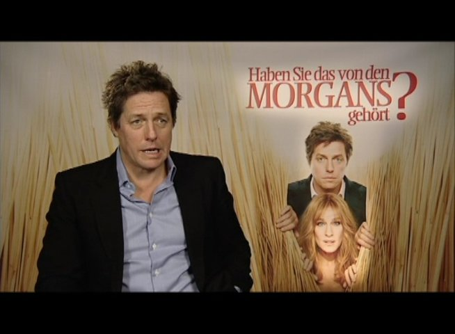Hugh Grant über den Film (oU) - Interview Poster