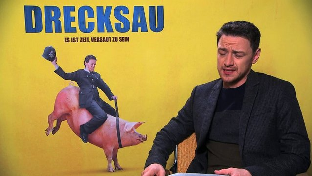 James McAvoy über den Humor des Films - OV-Interview Poster