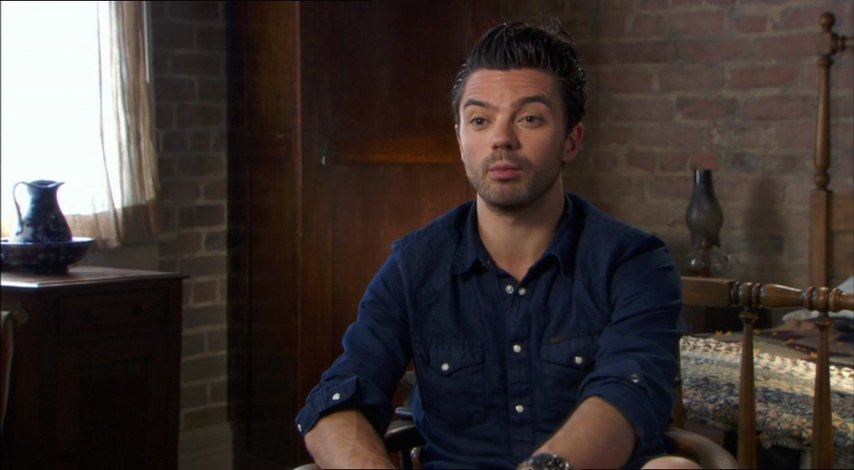 Dominic Cooper über den Film - OV-Interview Poster