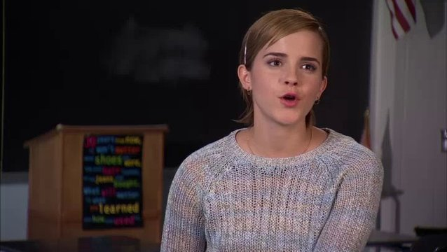 Interview mit Emma Watson (Sam) Teil1 - OV-Interview Poster