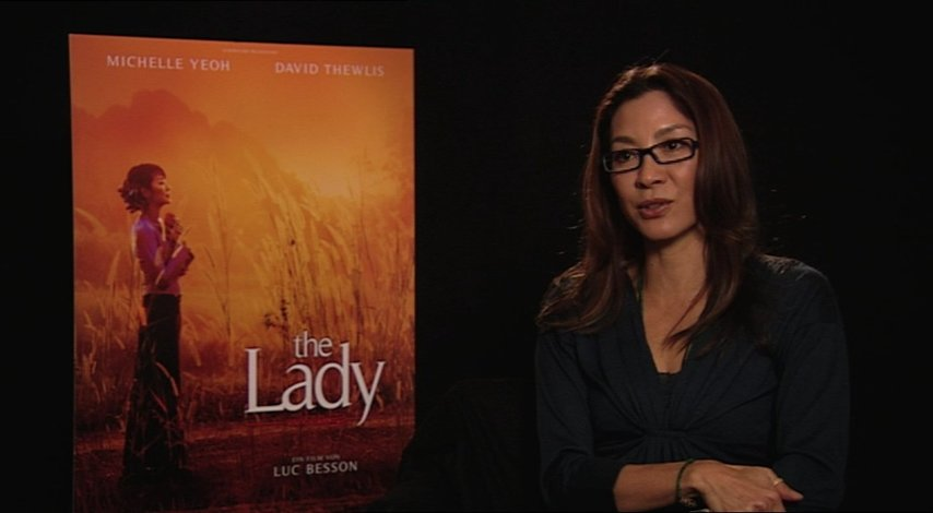 Michelle Yeoh über ihre Motivation - OV-Interview Poster