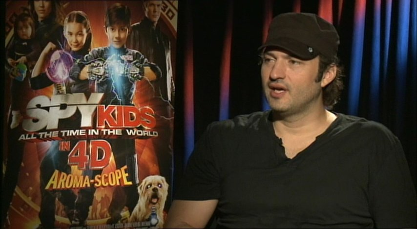 Robert Rodriguez -Regisseur- über Aroma-Scope - OV-Interview Poster