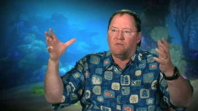 John Lasseter - Executive Director - über die visuellen Details - OV-Interview Poster