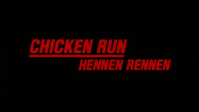 Chicken Run - Hennen Rennen - Trailer Poster