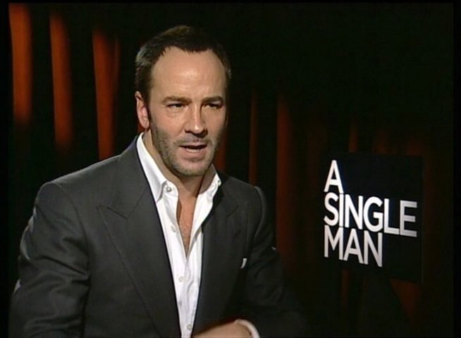 Tom Ford / REGISSEUR / über die Message des Films - OV-Interview Poster