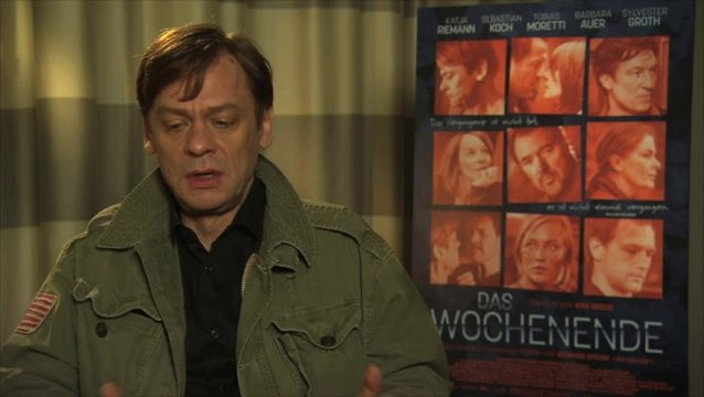 Sylvester Groth über den Film - Interview Poster