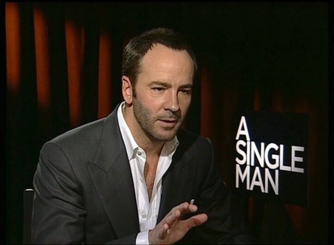Tom Ford / REGISSEUR / über die Story - OV-Interview Poster